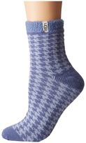 UGG Houndstooth Fleece Lined Socks