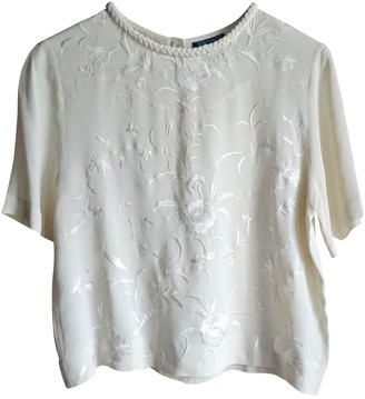 Topshop Tophop White Top for Women