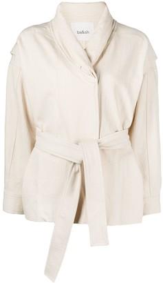 BA&SH Lost belted jacket