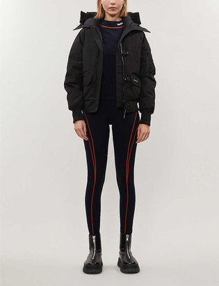 Canada Goose Chilliwack funnel-neck shell-down bomber jacket