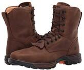 Durango Maverick 7 XPtm Waterproof Lacer Steel Toe (Russet Brown) Men's Shoes