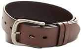 Will Leather Goods Leather Flat Strap Harness Buckle Belt