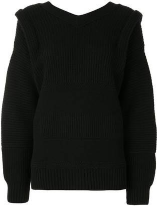 Undercover Bow Oversized Cotton Jumper