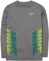 Nike Boys 4-7 Dri-FIT Side Logo Tee