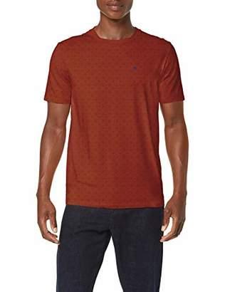 Scotch & Soda Men's Classic Cotton/Elastane Crewneck Tee T-Shirt,Large