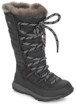 Sorel CHILDREN'S WHITNEY LACE girls's Snow boots in Black