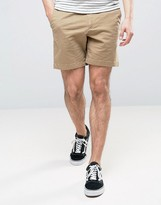 Abercrombie & Fitch Prep Fit Shorts In Sand