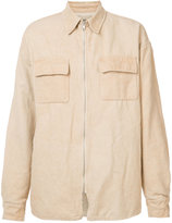 Yeezy weathered shirt jacket - men - Cotton/Linen/Flax - S