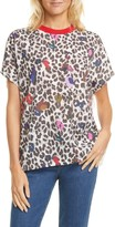 Ted Baker Byella Wilderness Woven Front Tee