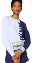 Ivy Park Women's Colorblock Peached Logo Sweatshirt