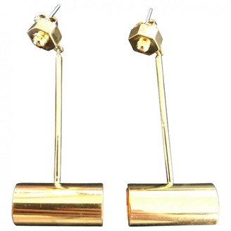 Eddie Borgo Gold Metal Earrings