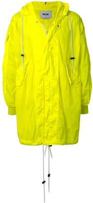 MSGM Oversized Raincoat