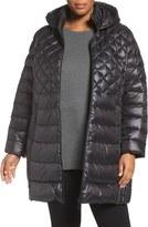Plus Size Women's Halogen Walker Down Jacket