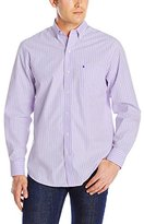 Izod Men's Long-Sleeve Essential Stripe Shirt