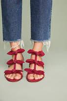 Anthropologie Bow T-Strap Heels