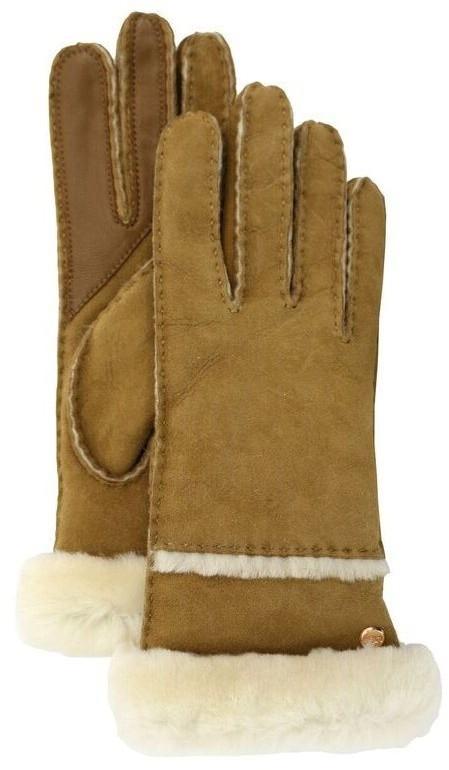 UGG Seamed Tech Glove - Chestnut, Small