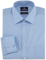 JCPenney Stafford Travel Easy-Care Broadcloth Dress Shirt-Big & Tall