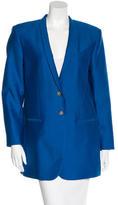 Stella McCartney Structured Shawl-Collar Blazer