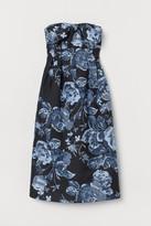H&M Brocade Dress - Blue