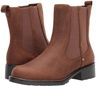 Clarks Orinoco Club (Black Leather) Women's Boots