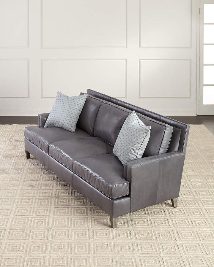 Fabulous Bernhardt Leather Sofa Frankydiablos Diy Chair Ideas Frankydiabloscom