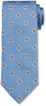 Brioni Men's Silk Medallion Tie