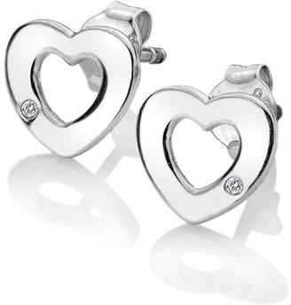 Hot Diamonds Diamond Amulets Heart Earrings