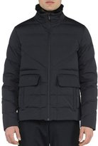 Fendi Basic Nylon Puffer Jacket, Black