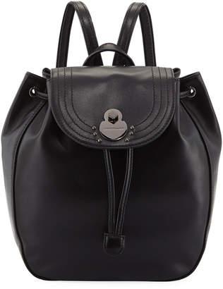 Longchamp Alezane Leather Backpack
