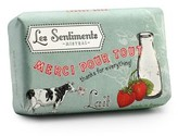 The Well Appointed House Thanks For Everything Les Sentiments Gift Soap-Set of Three -ONLY ONE LEFT IN STOCK IN OUR GREENWICH STORE FOR QUICK SHIPPING