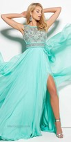 Mac Duggal Fabian Chiffon Prom Dress