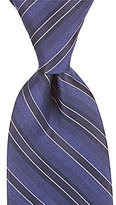 Murano Faint Stripe Narrow Silk Tie
