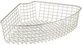 InterDesign Classico Lazy Susan Wire Storage Basket for Kitchen Cabinet - 1/4