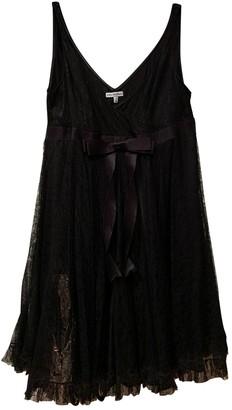 Anna Molinari Black Silk Dress for Women