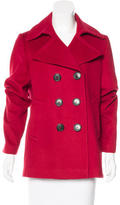 Burberry Wool & Cashmere-Blend Peacoat