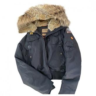 Parajumpers Black Fox Coat for Women