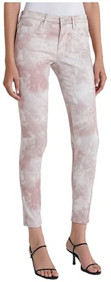 AG Jeans Leggings Ankle in Abstract Tie-Dye Rocky Mauve (Abstract Tie-Dye Rocky Mauve) Women's Jeans