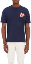 Kenzo Men's Logo-Print Cotton T-Shirt-NAVY