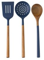 Kate Spade All in Good TasteTM 3-Piece Kitchen Utensils Set in Navy