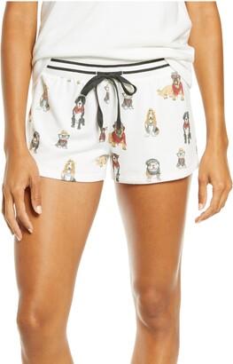 PJ Salvage Hip Hound Pajama Shorts
