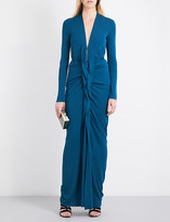 Roland Mouret Compeyson stretch-crepe gown