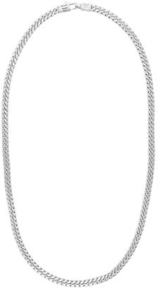 Tom Wood Silver Curb Chain L Necklace