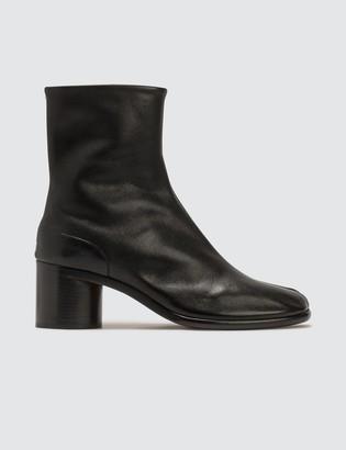 Maison Margiela Painted Calfskin Tabi Boots