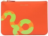 Thumbnail for your product : Comme des Garcons Snake-Print Card Holder