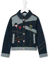 Little Marc Jacobs patch denim jacket