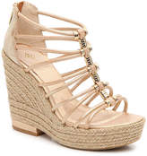 Isola Women's Yara Wedge Sandal -Gold Metallic