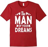The Man Of Your Dreams Valentine's Day Kids Boys T-Shirt