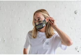 Herschel Classic Non-Medical Face Mask Woodland Camo