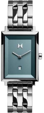 MVMT Women's Signature Square Skylar Stainless Steel Bracelet Watch 24mm