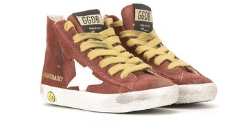 Golden Goose Kids 'Francy' hi-top sneakers